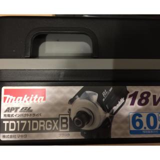 マキタ(Makita)のマキタ TD171DRGX  18Vタイプ フルセット  日立(工具/メンテナンス)
