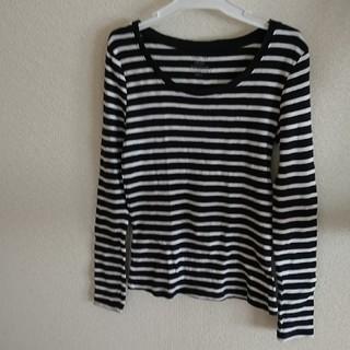 ジーユー(GU)のGU長袖Tシャツ M(Tシャツ(長袖/七分))