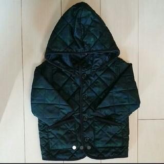 MUJI (無印良品) - 無印良品 子供用(男女共用)キルティングジャケット90