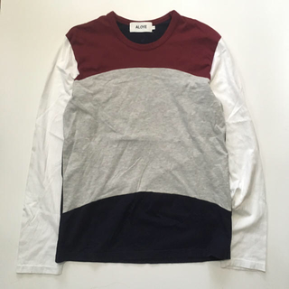 アロイ(ALOYE)のALOYE ロングTシャツ(Tシャツ/カットソー(七分/長袖))