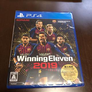プレイステーション4(PlayStation4)のウイニングイレブン2019 新品未開封(野球/サッカーゲーム)