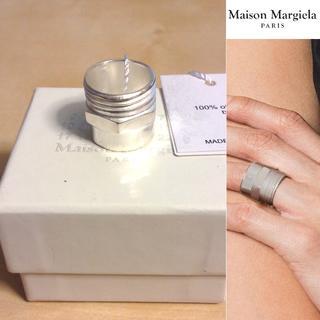 マルタンマルジェラ(Maison Martin Margiela)の新品■L■マルジェラ■17aw■ナットボルトコンビリング■指輪■4755(リング(指輪))