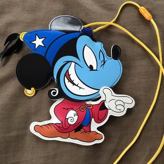 Disney - ディズニーシー ミッキージーニー パスポートケース 小物入れ
