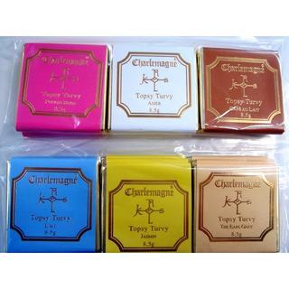 シャルルマーニュ ベルギー高級チョコ 6種類 各3枚(菓子/デザート)