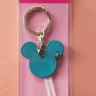 Disney - キーカバーキーチェーン ブルー