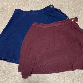 アメリカンアパレル(American Apparel)のコーデュロイスカート(スカート)