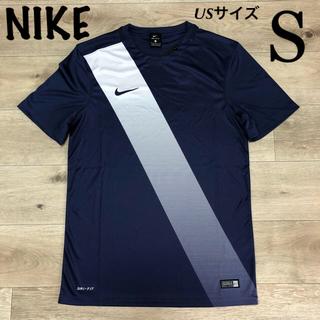 ナイキ(NIKE)のS M ナイキ メンズ Tシャツ フットサル 半袖Tシャツ 紺色(Tシャツ/カットソー(半袖/袖なし))