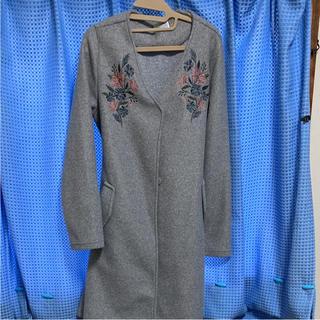 しまむら - 刺繍コート