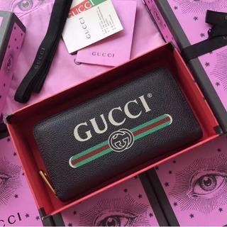 Gucci - GUCCI グッチ 長財布  カードケース ラウンドファスナー財布