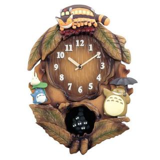 ジブリ(ジブリ)のジブリ トトロ 掛け時計(掛時計/柱時計)
