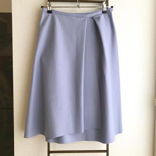 デプレ(DES PRES)のDesPres ウールフレアスカート(ひざ丈スカート)