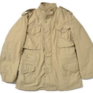 アルファ(alpha)の◆ALPHA◆sizeS M-65 jacket beige(ミリタリージャケット)