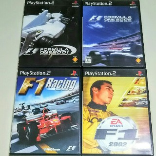 PS2  FOMULA  ONE  F1  4本セット