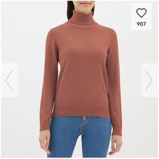GU - GU タートルネックセーター Lサイズ