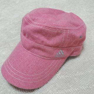 アディダス(adidas)のadidas帽子 PINK(キャップ)