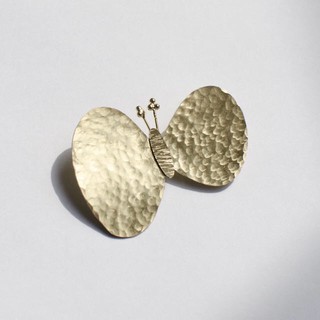 mina perhonen - 真鍮ブローチ ちょうちょ choucho ハンドメイド オリジナル