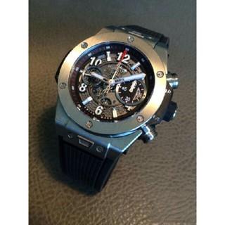 HUBLOT希少  時計 機械自動巻き 腕時計