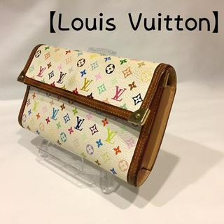 ルイヴィトン(LOUIS VUITTON)の193 ヴィトン モノグラム マルチカラー WH ポルトトレゾール インター(財布)