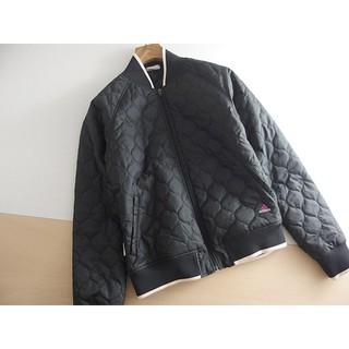 アディダス(adidas)のレディース ⚫adidas⚫ アディダス 撥水 キルティングジャケット M ♪(トレーニング用品)