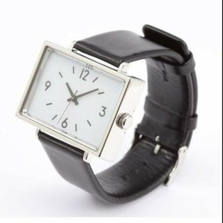 MUJI (無印良品) - 無印良品 腕時計 駅の時計(MJ-SCW1)