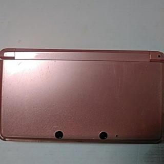 ニンテンドウ(任天堂)の任天堂3DS本体ピンク(家庭用ゲーム本体)