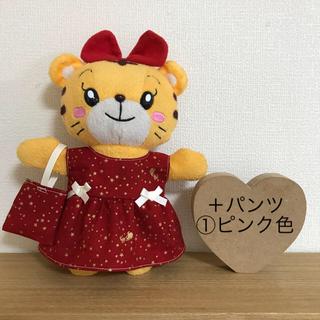 613*はなちゃん 洋服 クリスマス☆ワンピース(ぬいぐるみ)