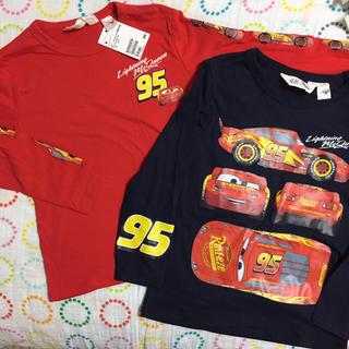 エイチアンドエム(H&M)の新品☆135/140センチ H&M カーズ ロンT2枚セット(Tシャツ/カットソー)