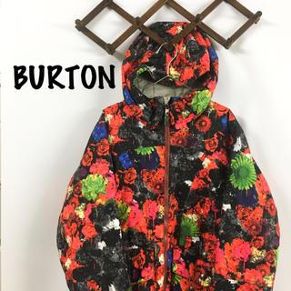 BURTON - BURTON バートン スノボウェア スキーウェア 花柄 総柄 ウェア 美品