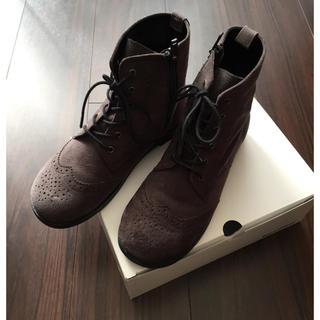 ファミリア(familiar)のファミリア ショートブーツ 22㎝(ブーツ)