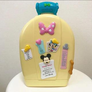 ディズニー(Disney)の【激レア】【プレミア】トゥーンタウン ミニーの家の冷蔵庫風小物入れ(小物入れ)