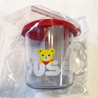 ミキハウス(mikihouse)の【新品、未開封、未使用】ミキハウス コップ ストローマグ (マグカップ)