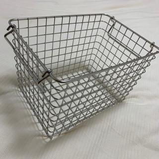 MUJI (無印良品) - 即発送🌸新品⭐️無印良品*ステンレスワイヤーバスケット 収納 インテリア🍀