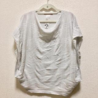アルカリ(alcali)のàlcali トップス 半袖 サイズF(カットソー(半袖/袖なし))