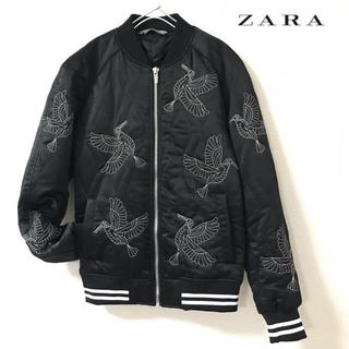 ザラ(ZARA)の【ZARA】ザラ スカジャン キルト ブルゾン M(ブルゾン)