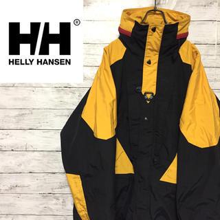 ヘリーハンセン(HELLY HANSEN)の激レア 90s ヘリーハンセン equipe ナイロンジャケット 美品(ナイロンジャケット)