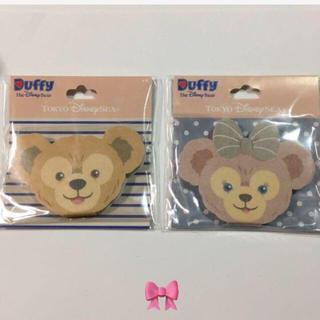 Disney - 【新品・未開封】ダッフィー 💖シェリーメイ ふわふわメモ