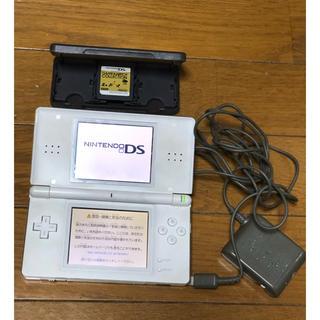 ニンテンドーDS(ニンテンドーDS)のDS lite  ファイナルファンタジー III仕様 未発売ソフト付き 中古(携帯用ゲーム本体)