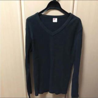 エドウィン(EDWIN)のEDWIN トップス Vネック(Tシャツ/カットソー(七分/長袖))