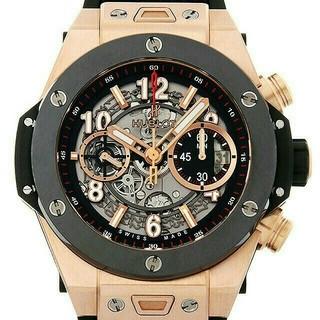 ウブロ(HUBLOT)のウブロ ビッグバン ウニコ キングゴールドセラミック411.OM.1180.RX(腕時計(アナログ))