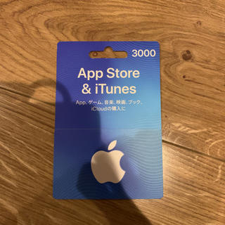 アップル(Apple)の3000円(その他)