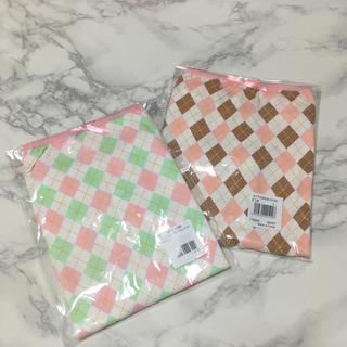 即購入OK!新品袋入り★マタニティ アーガイル サポートショーツ L 2色セット(マタニティ下着)