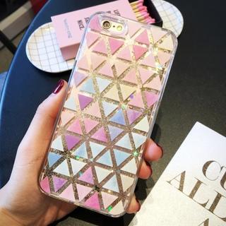 iPhone5/5s/SE 綺麗 キラキラ 砂金 が流れる ハードケース(iPhoneケース)