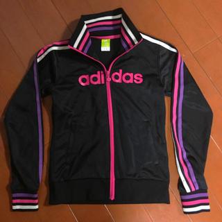 アディダス(adidas)のadidas アディダスネオ リブジャージジャケット(トレーナー/スウェット)