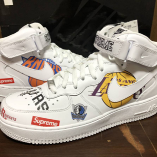 ナイキ(NIKE)のSupreme×NIKE×NBA / Air Force 1 Mid(スニーカー)