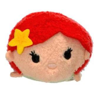 アリエル(アリエル)のdisneyTSMU TSMUディズニーツムツムアリエル手のひらサイズ人形(ぬいぐるみ)