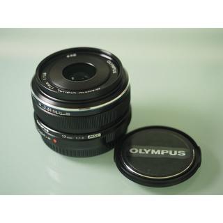 OLYMPUS - OLYMPUS 単焦点レンズ M.ZUIKO DIGITAL 17mm F1.8