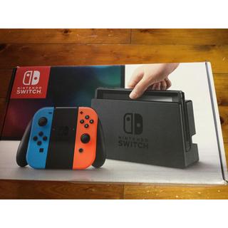Nintendo Switch - 任天堂スイッチ ニンテンドーSwitch ネオンレッド/ネオンブルー 本体
