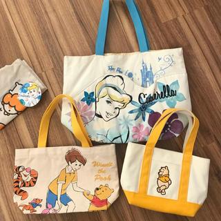 Disney - ディズニー トートバッグ セット
