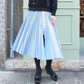 サカイラック(sacai luck)のsacai luck プリーツスカート(ロングスカート)