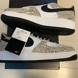 ナイキ(NIKE)の【新品】NIKE AIR FORCE 1 LOW COCOA SNAKE(スニーカー)
